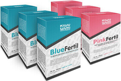Doplnky stravy na podporu plodnosti: BlueFertil a PinkFertil