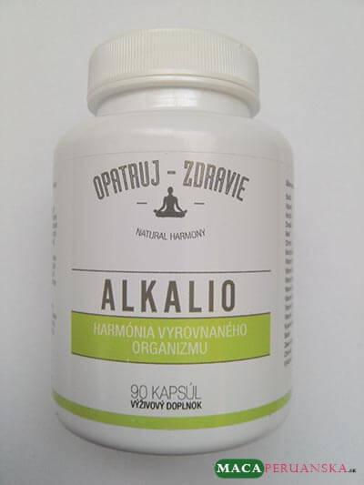 Multi-zložkový doplnok stravy ALKALIO