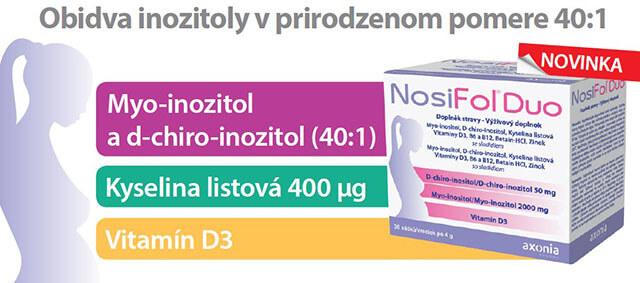 NosiFol Duo s bohatším zložením než ako má NosiFol Forte
