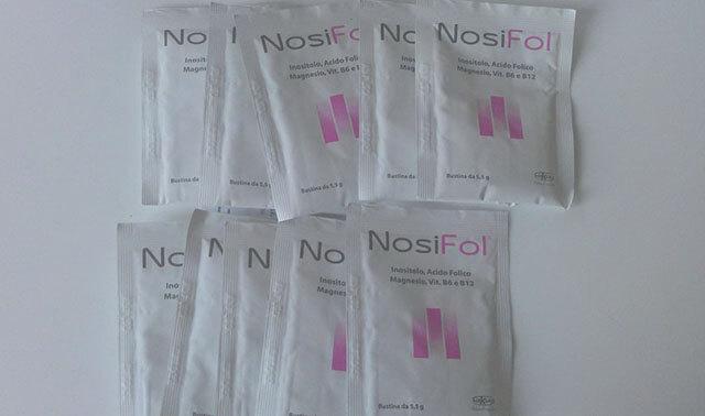 Produkty NosiFol sa predávajú vo forme vrecúšok v ktorých sa nachádza prášok s uvedeným zložením rozpustný vo vode. Jedno balenie obsahuje 30 vrecúšok.