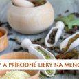 Bylinky a prírodné lieky na menopauzu