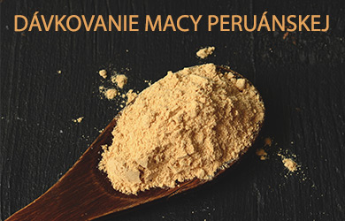 Správne dávkovanie Macy peruánskej