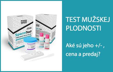 Domáci test plodnosti pre mužov